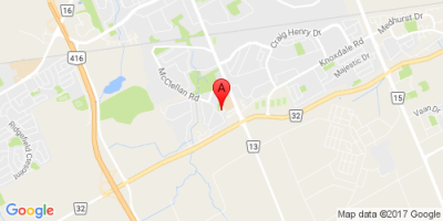Google map for 24 Glencoe, Nepean