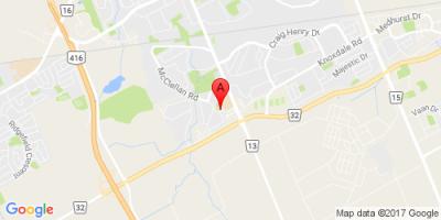 Google map for 24 Glencoe, Nepean