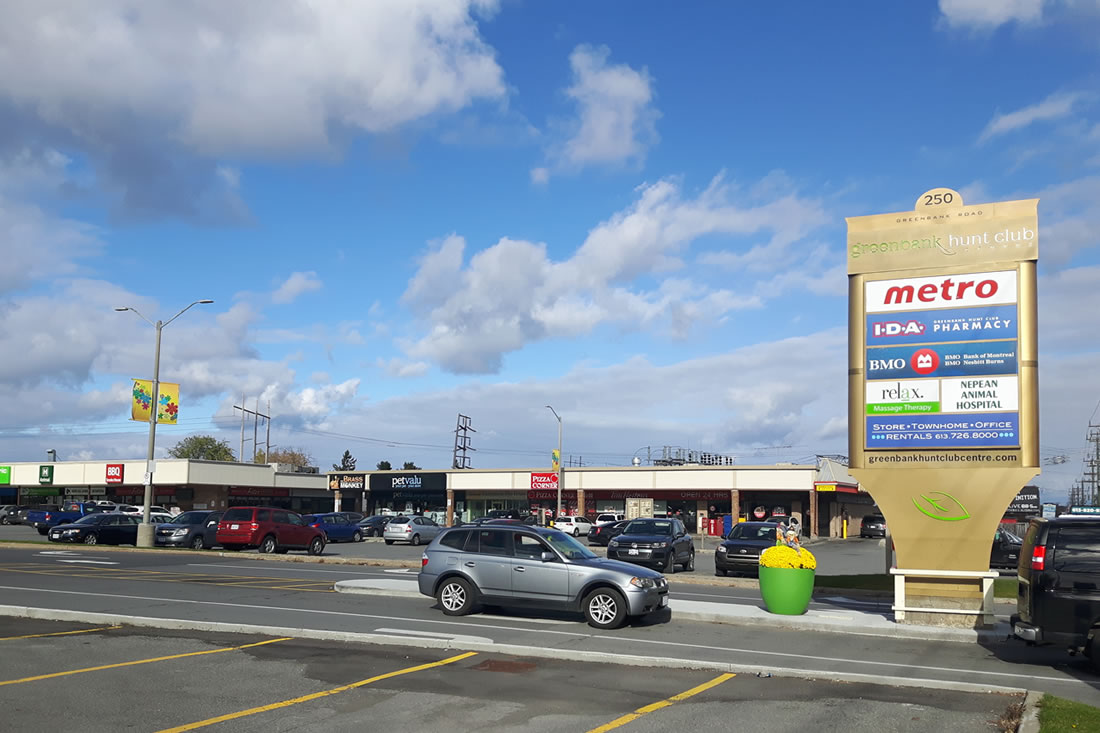 Retail space for lease in Ottawa