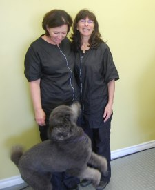 Lori and Ellen of Uptown Pet Grooming
